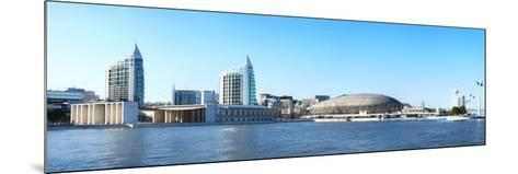 Modern Buildings in Parque Das Nacoes, Lisbon, Portugal, Europe-G&M Therin-Weise-Mounted Photographic Print