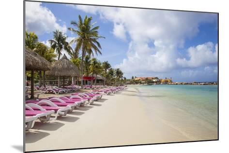Mambo Beach, Willemstad, Curacao, West Indies, Lesser Antilles-Jane Sweeney-Mounted Photographic Print