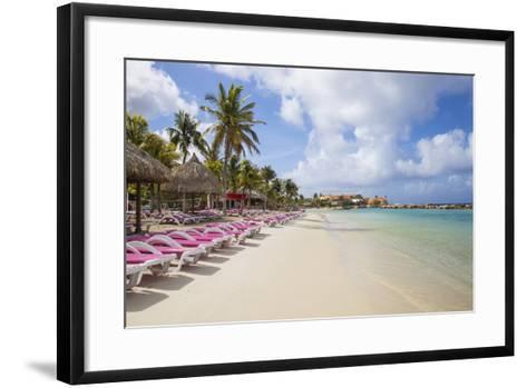 Mambo Beach, Willemstad, Curacao, West Indies, Lesser Antilles-Jane Sweeney-Framed Art Print