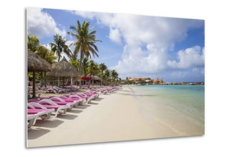 Mambo Beach, Willemstad, Curacao, West Indies, Lesser Antilles-Jane Sweeney-Metal Print