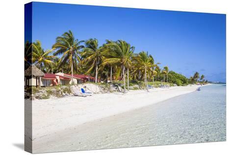 Playa El Paso, Cayo Guillermo, Jardines Del Rey, Ciego De Avila Province, Cuba-Jane Sweeney-Stretched Canvas Print