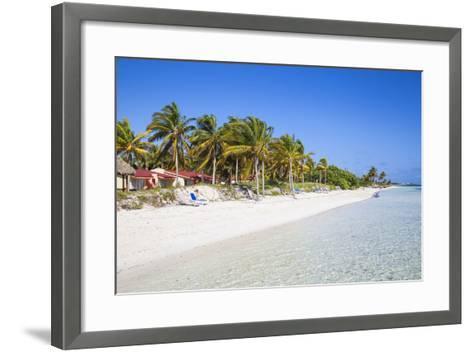 Playa El Paso, Cayo Guillermo, Jardines Del Rey, Ciego De Avila Province, Cuba-Jane Sweeney-Framed Art Print