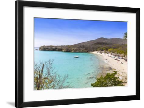 Knip Beach, Curacao, West Indies, Lesser Antilles, Former Netherlands Antilles-Jane Sweeney-Framed Art Print