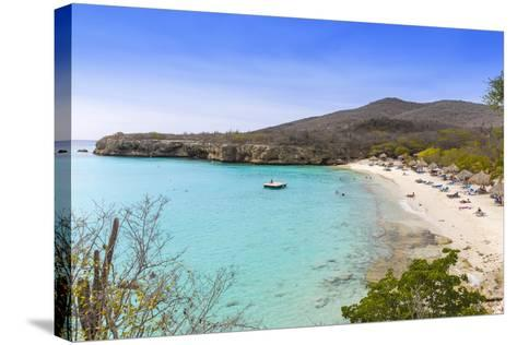 Knip Beach, Curacao, West Indies, Lesser Antilles, Former Netherlands Antilles-Jane Sweeney-Stretched Canvas Print