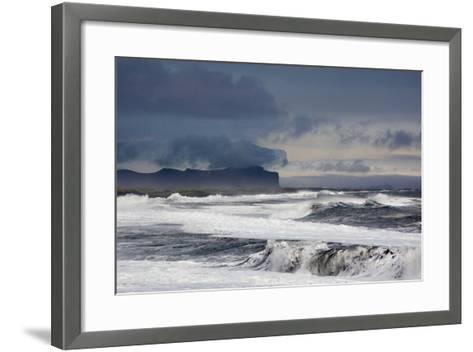 Vik Beach, Iceland, Polar Regions-Bill Ward-Framed Art Print