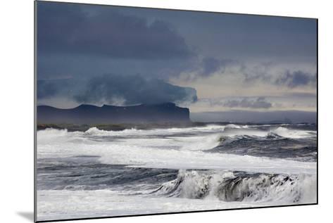Vik Beach, Iceland, Polar Regions-Bill Ward-Mounted Photographic Print