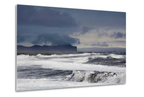 Vik Beach, Iceland, Polar Regions-Bill Ward-Metal Print