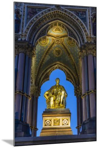 The Albert Memorial in Kensington Gardens at Sundown, London, England, United Kingdom, Europe-Michael Nolan-Mounted Photographic Print