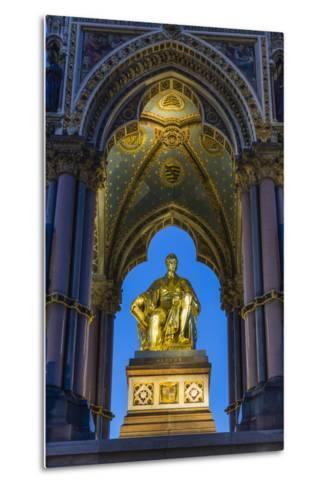 The Albert Memorial in Kensington Gardens at Sundown, London, England, United Kingdom, Europe-Michael Nolan-Metal Print