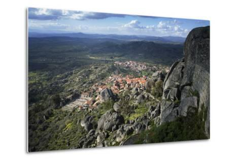 View from the Castle of the Medieval Village of Monsanto in the Municipality of Idanha-A-Nova-Alex Robinson-Metal Print