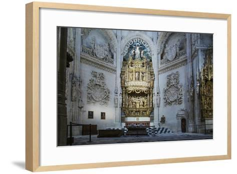 Tomb of the Constables of Castile, Burgos Cathedral, UNESCO World Heritage Site-Alex Robinson-Framed Art Print