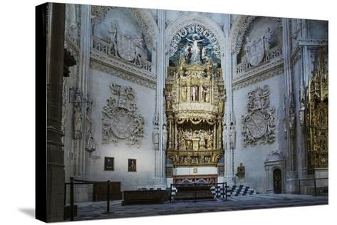 Tomb of the Constables of Castile, Burgos Cathedral, UNESCO World Heritage Site-Alex Robinson-Stretched Canvas Print