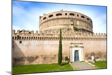 Mausoleum of Hadrian (Castel Sant'Angelo), UNESCO World Heritage Site, Rome, Lazio, Italy, Europe-Nico Tondini-Mounted Photographic Print