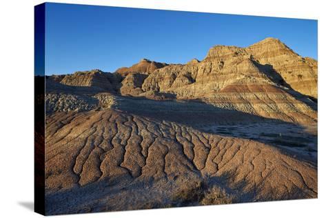 Badlands, Badlands National Park, South Dakota, United States of America, North America-James Hager-Stretched Canvas Print