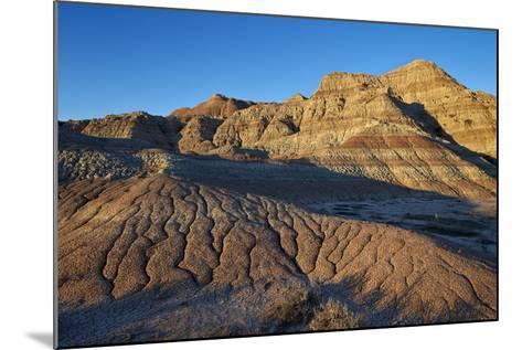 Badlands, Badlands National Park, South Dakota, United States of America, North America-James Hager-Mounted Photographic Print
