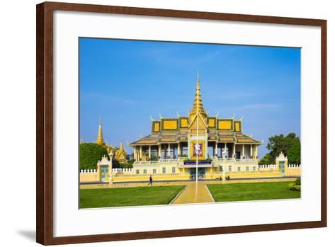 Moonlight Pavilion (Preah Thineang Chan Chhaya) of the Royal Palace, Phnom Penh, Cambodia-Jason Langley-Framed Art Print