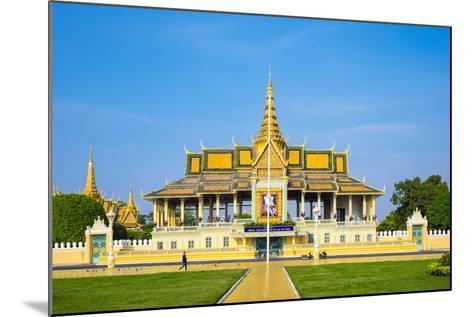 Moonlight Pavilion (Preah Thineang Chan Chhaya) of the Royal Palace, Phnom Penh, Cambodia-Jason Langley-Mounted Photographic Print