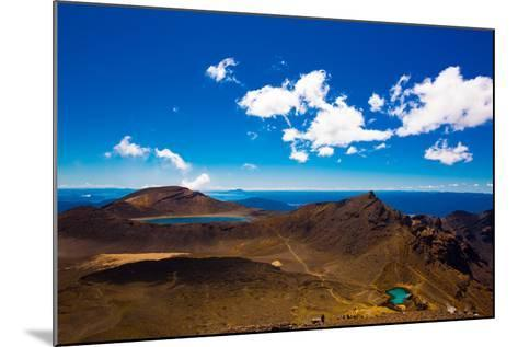 The Tongariro Crossing, UNESCO World Heritage Site, North Island, New Zealand, Pacific-Laura Grier-Mounted Photographic Print