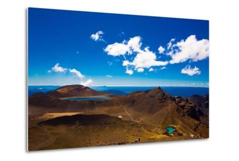 The Tongariro Crossing, UNESCO World Heritage Site, North Island, New Zealand, Pacific-Laura Grier-Metal Print
