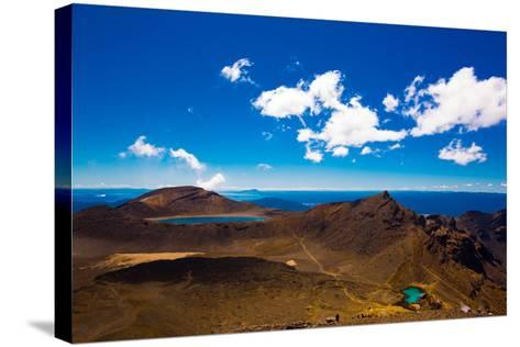 The Tongariro Crossing, UNESCO World Heritage Site, North Island, New Zealand, Pacific-Laura Grier-Stretched Canvas Print