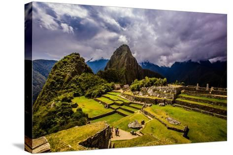 Machu Picchu Incan Ruins, UNESCO World Heritage Site, Sacred Valley, Peru, South America-Laura Grier-Stretched Canvas Print