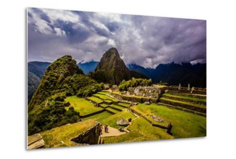 Machu Picchu Incan Ruins, UNESCO World Heritage Site, Sacred Valley, Peru, South America-Laura Grier-Metal Print