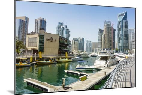 Dubai Marina, Dubai, United Arab Emirates, Middle East-Fraser Hall-Mounted Photographic Print