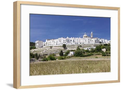 Locorotondo, Valle D'Itria, Bari District, Puglia, Italy, Europe-Markus Lange-Framed Art Print