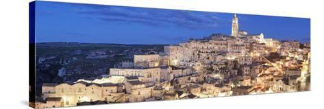 Sasso Barisano and Cathedral, UNESCO World Heritage Site, Matera, Basilicata, Puglia, Italy, Europe-Markus Lange-Stretched Canvas Print