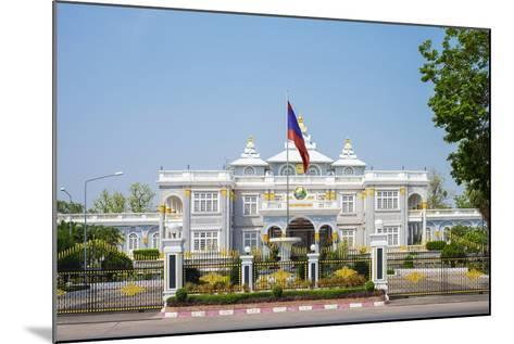 Presidential Palace, Official Residence of the President of Laos, Vientiane, Laos, Indochina-Jason Langley-Mounted Photographic Print