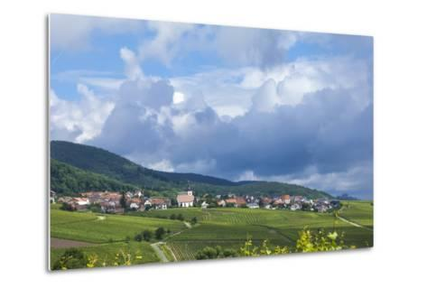 Village Amongst Vineyards in the Pfalz Area, Germany, Europe-James Emmerson-Metal Print