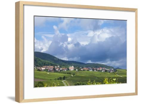 Village Amongst Vineyards in the Pfalz Area, Germany, Europe-James Emmerson-Framed Art Print