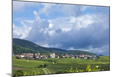Village Amongst Vineyards in the Pfalz Area, Germany, Europe-James Emmerson-Mounted Photographic Print