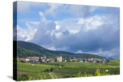 Village Amongst Vineyards in the Pfalz Area, Germany, Europe-James Emmerson-Stretched Canvas Print