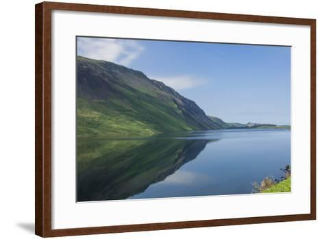 Wastwater and the Screes, Early Morning, Wasdale, Lake District National Park, Cumbria-James Emmerson-Framed Art Print