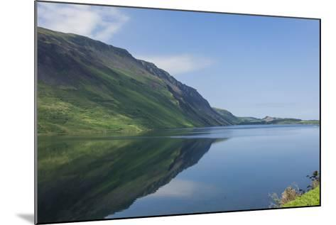 Wastwater and the Screes, Early Morning, Wasdale, Lake District National Park, Cumbria-James Emmerson-Mounted Photographic Print