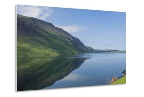 Wastwater and the Screes, Early Morning, Wasdale, Lake District National Park, Cumbria-James Emmerson-Metal Print