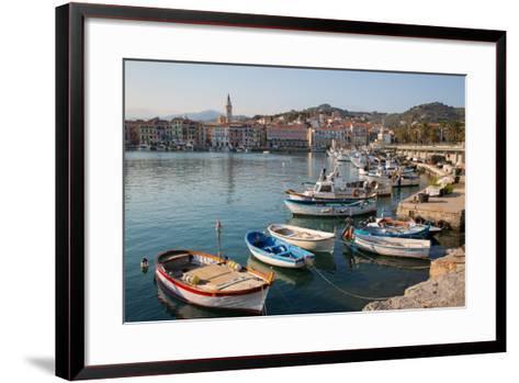 Harbour, Imperia, Liguria, Italy, Europe-Frank Fell-Framed Art Print