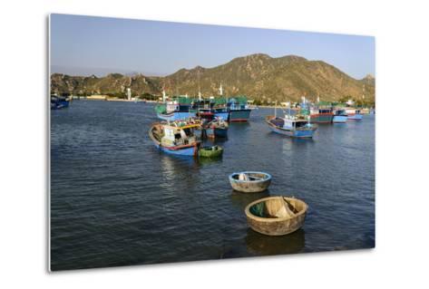 The Fishing Port, Phan Rang, Ninh Thuan Province, Vietnam, Indochina, Southeast Asia, Asia-Nathalie Cuvelier-Metal Print