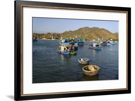 The Fishing Port, Phan Rang, Ninh Thuan Province, Vietnam, Indochina, Southeast Asia, Asia-Nathalie Cuvelier-Framed Art Print