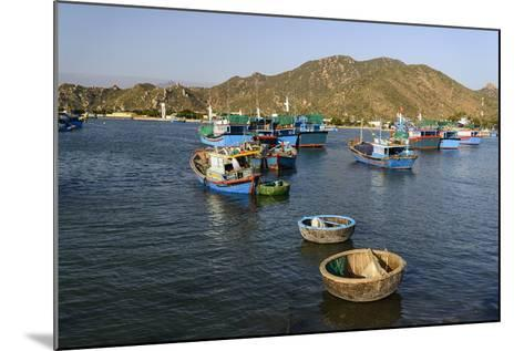 The Fishing Port, Phan Rang, Ninh Thuan Province, Vietnam, Indochina, Southeast Asia, Asia-Nathalie Cuvelier-Mounted Photographic Print