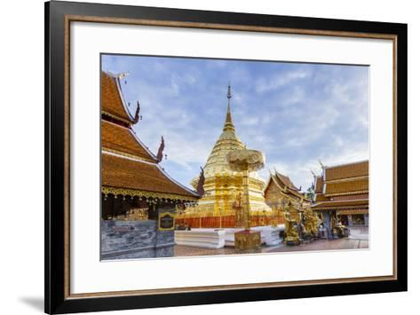 Doi Suthep Temple, Chiang Mai, Thailand, Southeast Asia, Asia-Alex Robinson-Framed Art Print