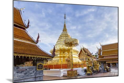 Doi Suthep Temple, Chiang Mai, Thailand, Southeast Asia, Asia-Alex Robinson-Mounted Photographic Print