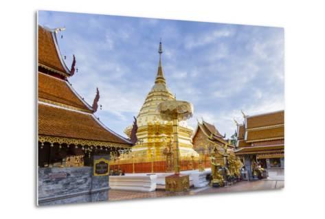 Doi Suthep Temple, Chiang Mai, Thailand, Southeast Asia, Asia-Alex Robinson-Metal Print