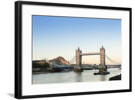 Tower Bridge, London, England, United Kingdom, Europe-Alex Robinson-Framed Art Print