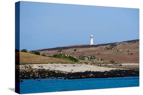 Lighthouse, Isles of Scilly, England, United Kingdom, Europe-Robert Harding-Stretched Canvas Print