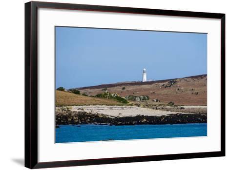 Lighthouse, Isles of Scilly, England, United Kingdom, Europe-Robert Harding-Framed Art Print