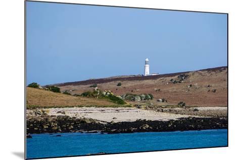 Lighthouse, Isles of Scilly, England, United Kingdom, Europe-Robert Harding-Mounted Photographic Print