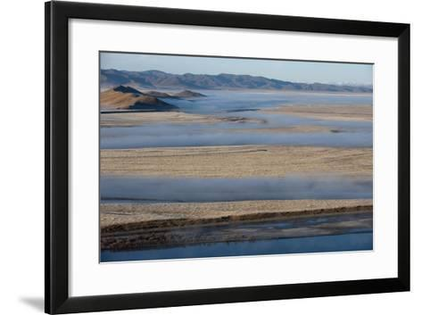 The Yellow River in Sichuan Province, the Second Longest River in China after the Yangtze, Sichuan-Alex Treadway-Framed Art Print