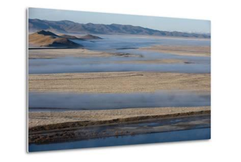 The Yellow River in Sichuan Province, the Second Longest River in China after the Yangtze, Sichuan-Alex Treadway-Metal Print